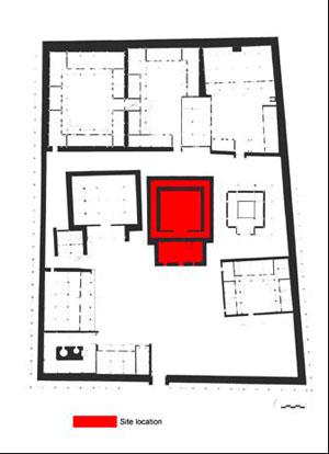 Plan of Serkhang monastery by Yutaka Hirako and Jianjun