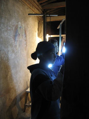 THF conservation of historic Tibetan Buddhist wall-paintings in Amdo Serkhang: the two Tibetan trainees