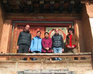 THF Amdo Serkhang Mural Conservation Team 2007