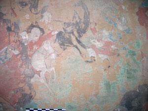 THF damage analysis of historic Tibetan wall-paintings in Amdo Serkhang monastery