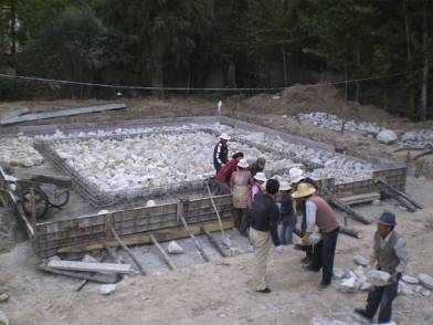 Foundation for the World Peace Stupa in Amdo