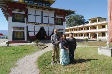 Princess Hope Leezum, Andre and Sikkimese architect Kailash