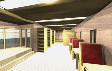 CARL interior 3D simulation by Franco Berardi