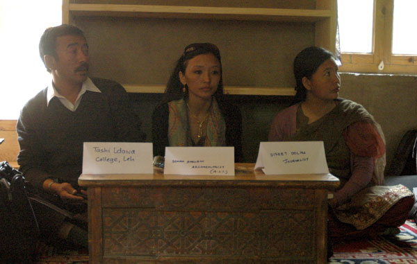 Participants of Heritage Workshop in Ladakh Central Asian Research Library Leh 2011