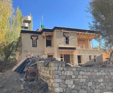Shel-Zimskhang - Sabu ongoing restoration work.