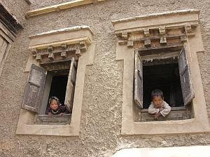 Children in Sofi House, Leh by J. Niewoehner