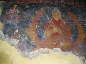 Tsong Kha pa (North wall)