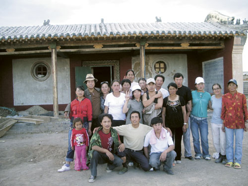 THF Mongolia Sangiin Dalai team 2007