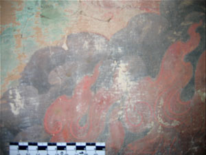 THF conservation of historic Tibetan wall-paintings in Amdo Serkhang monastery