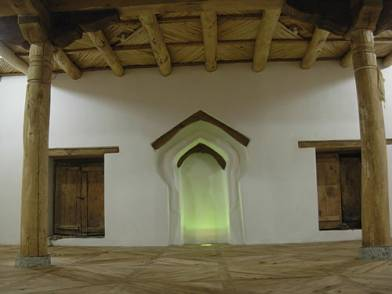 Completed Masjid, interior