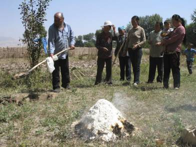 Land purification ceremony in Trika, Amdo