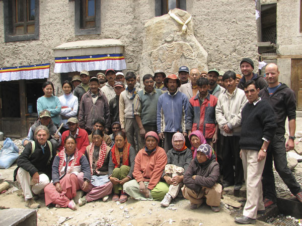 The team after mission accomplished 26 May 2009
