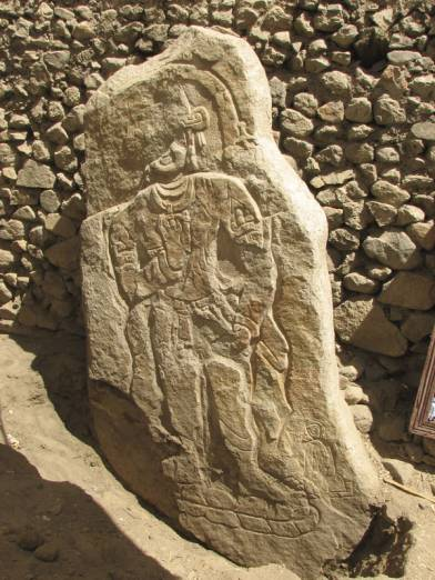 Believed to be an image of Maitreya Buddha, maybe 8th-10th century