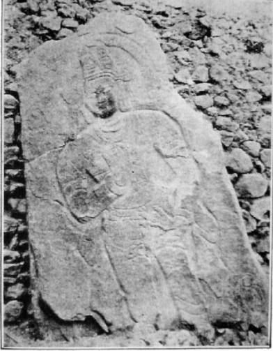 Stone image in 1907 as published by Francke
