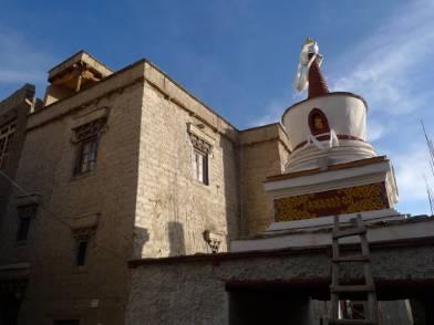 Stagophilok Kagan stupa after repair in 2019.
