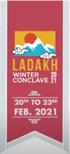 Second Ladakh Winter Conclave 2021