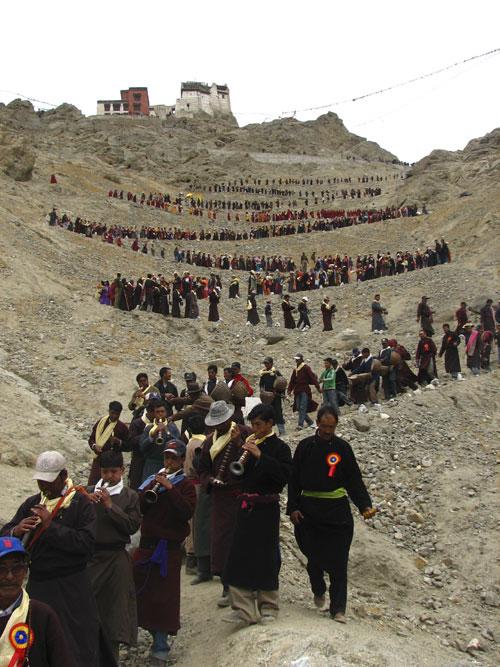 Buddhapurnima festival in Leh May 2007