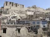 Demolition of Kamal Khan House in old Leh