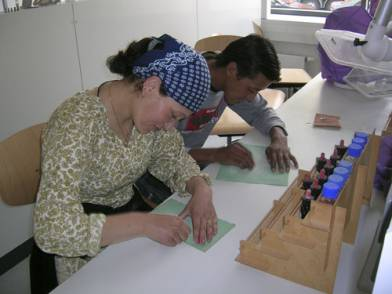 First Ladakhi wall-painting conservators trained by THF and TFH Erfurt now in Germany