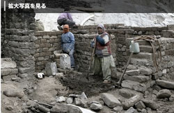 THF/LOTI's Leh Old Town Project, picture © Manpreet Romana