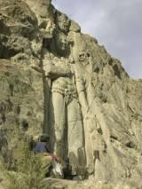 Maitreya on the rocks at Khartse (Phuntsog Dorje)