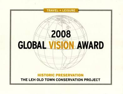 THF wins 2008 Global Vision Award