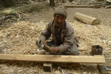 Artisan Jamyang Tarchin from Ladakh