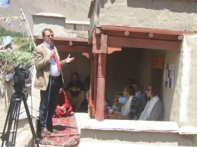 German Ambassador inaugurates THF Ladakh project