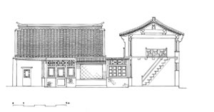 Zhongluwan Hutong 60, rehabilitation plan by Yutaka Hirako