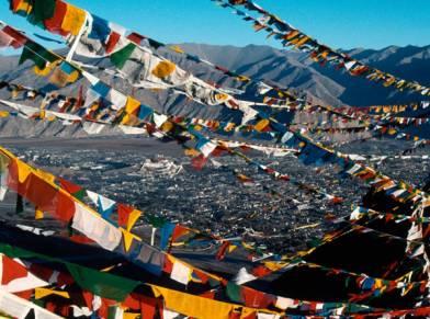 View of Lhasa by Josef Mueller, www.open-eye-photography.de/