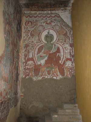 Restauration Red Maitreya Temple