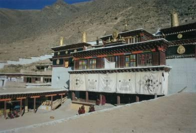 Beri monastery south elevation, December 2001.