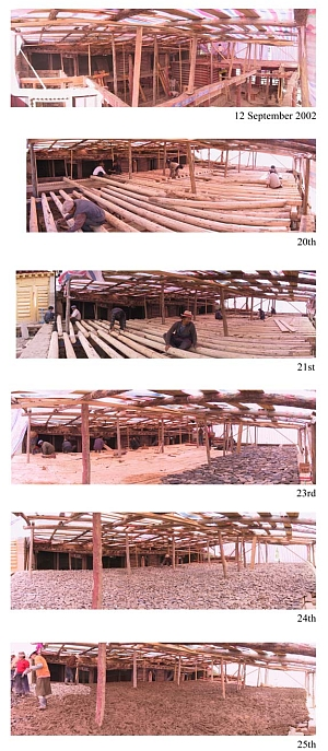 Beri Roof Construction Sept 02